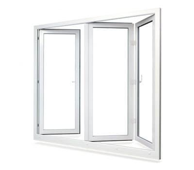 پنجره دوجداره 3 لنگه