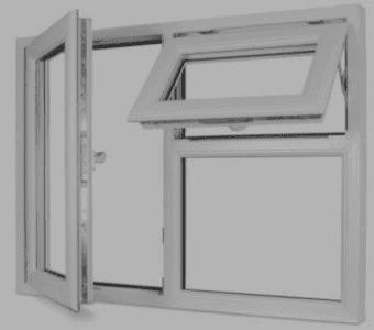 پنجره دو حالته بدون کتیبه